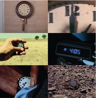 Stills from The Clock by Christian Marclay