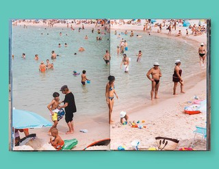 A spread from the new Gucci book, photographed by Martin Parr in Cannes