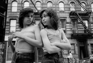 Susan Meiselas Dee and Lisa