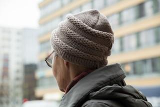 Die 82-jährige Hilde