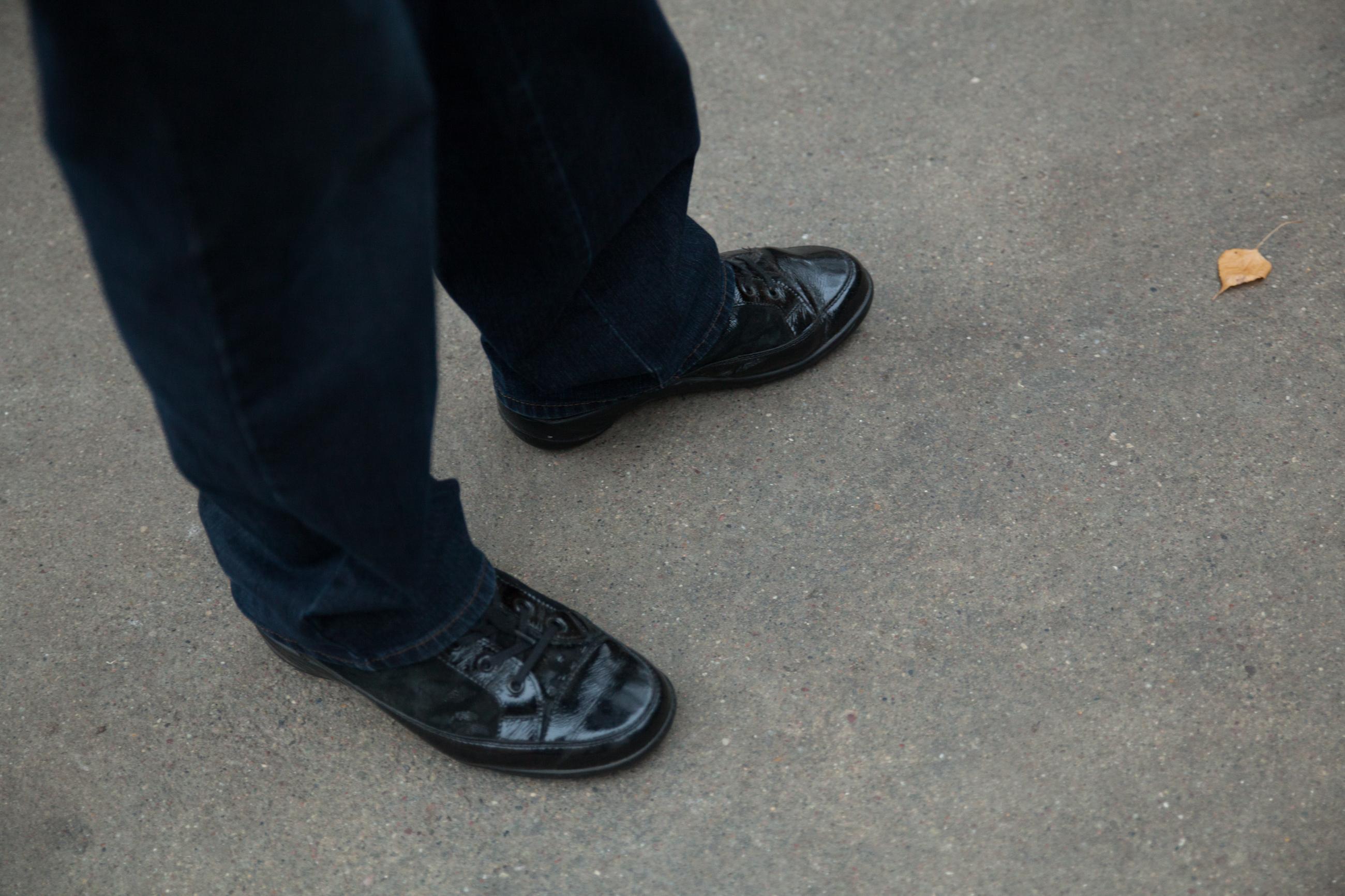 Helgas Füße