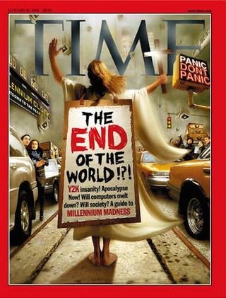 Time magazine cover 1999 millennium bug fear, y2k