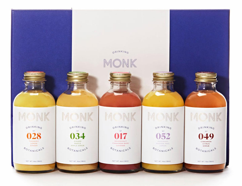 monk drinks