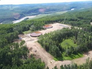 Toxic water storage