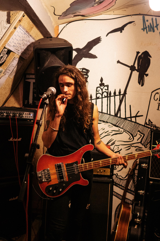 Olle Bergholz fra bandet Ung Tro 2018