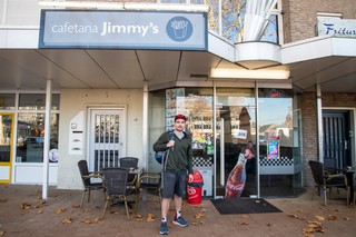 Rik Nauwelaerts wedstrijdeter cafetaria jimmy's