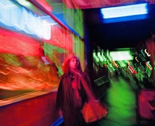James J. Robinson photographs neon colour signs