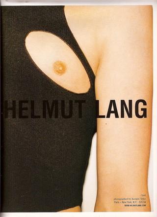 Nipple Helmut Lang ad