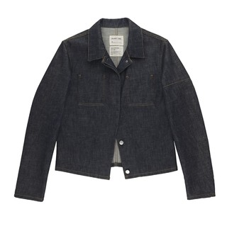 Helmut Lang, Asymmetric Deconstructed Denim Jacket, ENDYMA, Helmut Lang Archive
