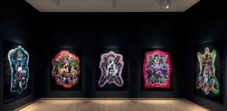 Zaalopname Raquel van Haver – Spirits of the Soil, 2018. Stedelijk Museum Amsterdam. Foto: Gert Jan van Rooij