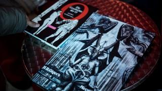 H.R. Giger Buch die Geschichte des O am Porno Flohmi