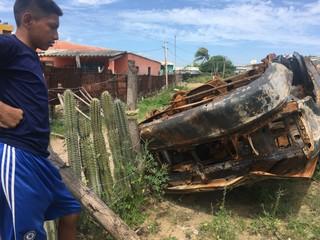 camioneta quemada guajira corrupción
