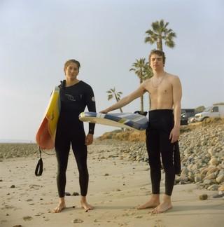 yann faucher photographs surfers at the beach