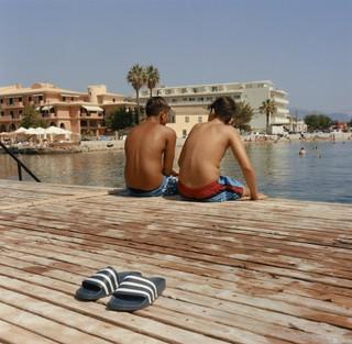 yann faucher photographs the beach in greece