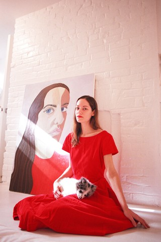 an artist alice lancaster photographed by sabrina santiago