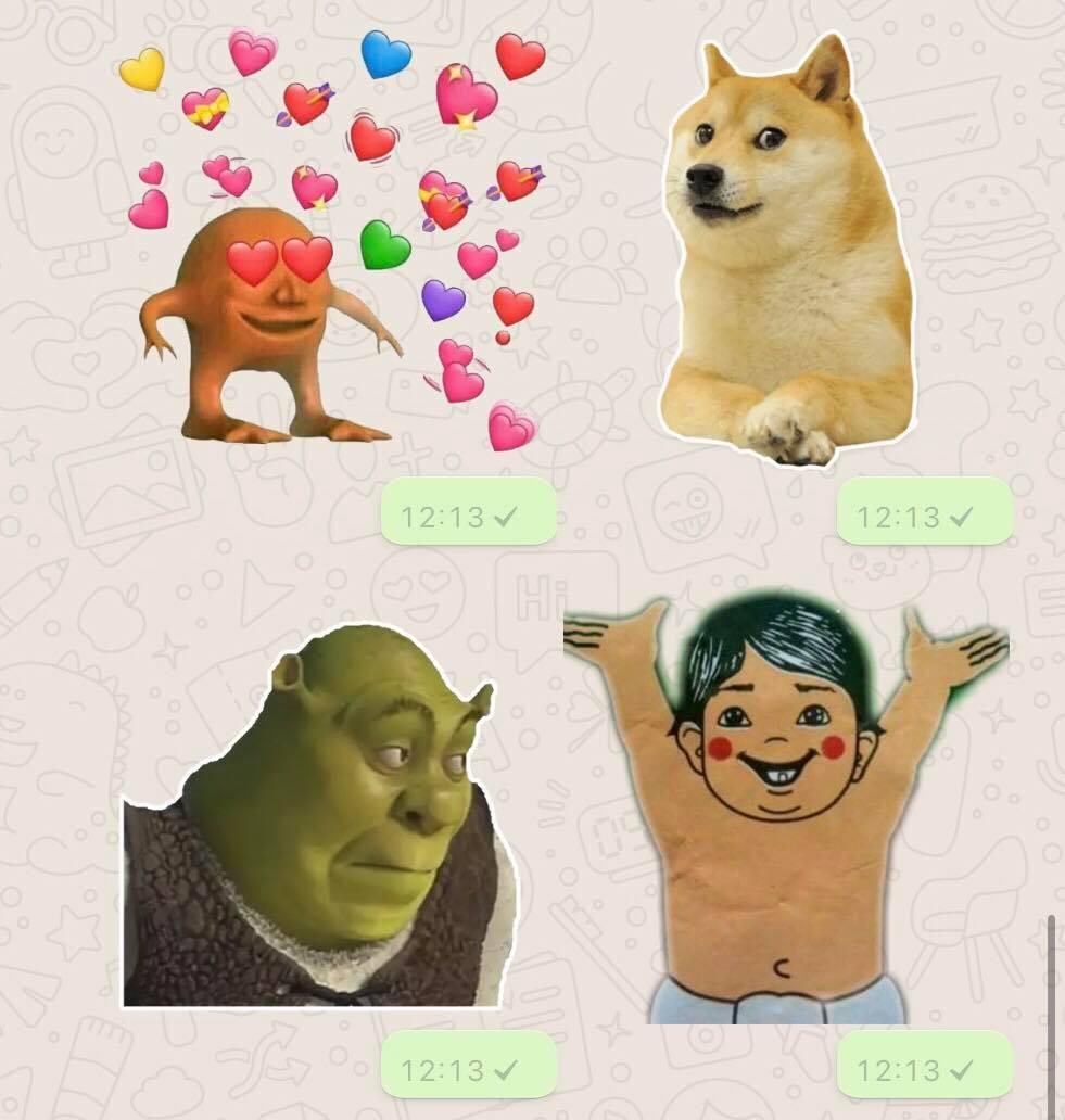 Cosas Chistosas Para Compartir En Whatsapp hicimos un grupo de whatsapp para enviar stickers y estos