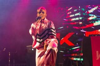Keila Gentil no festival Favela Sounds