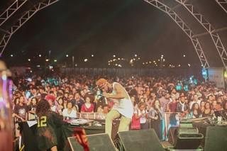 Flávio Renegado no festival Favela Sounds