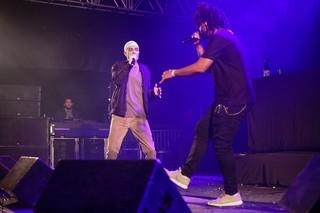 Don L e Terra Preta no festival Favela Sounds