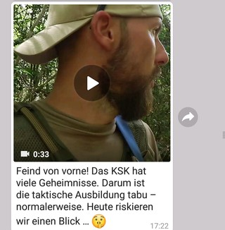 Screenshot von WhatsApp