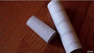 Toilet paper and paper towel rolls by MOunique