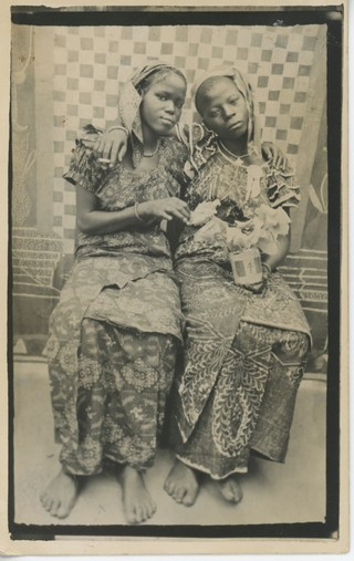 Photographer Unknown, Perfect Aunties, Chad (?), Date Unknown. Courtesy of the McKinley Collection.