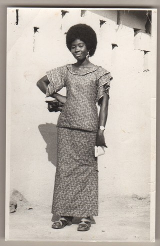 Photographer Unknown, Aunty Korama in Kaba and Slit, Accra, Ghana, 1970s. Courtesy of the McKinley Collection.