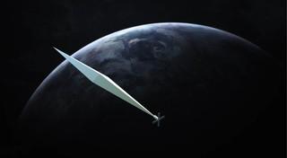 "A rendering of Paglen's ""Orbital Reflector"". Image: Trevor Paglen"