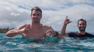 1543935975003-Mathieu-Crepel-left-enjoying-the-surf-in-Hawaii