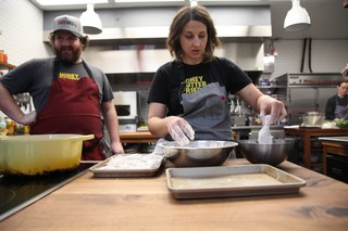 christine cikowski and cam waron of honey butter fried chicken