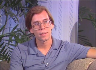 Lazar during a 1989 interview. Image: The Orchard