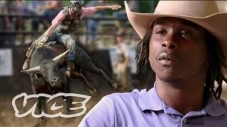 afroamerican cowboy