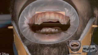 How Disney creates video game teeth