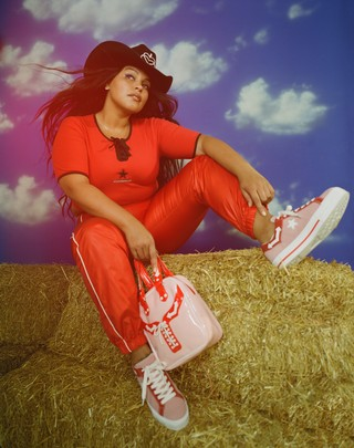 Paloma Elsesser for MadeMe x Converse