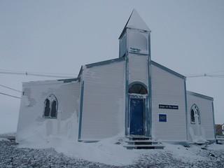 Chapel of the Snows in Antarctica.