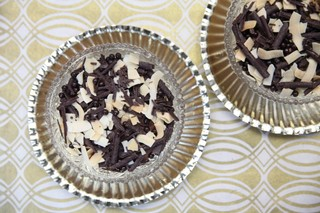 chocolate mousse made by stephanie prida