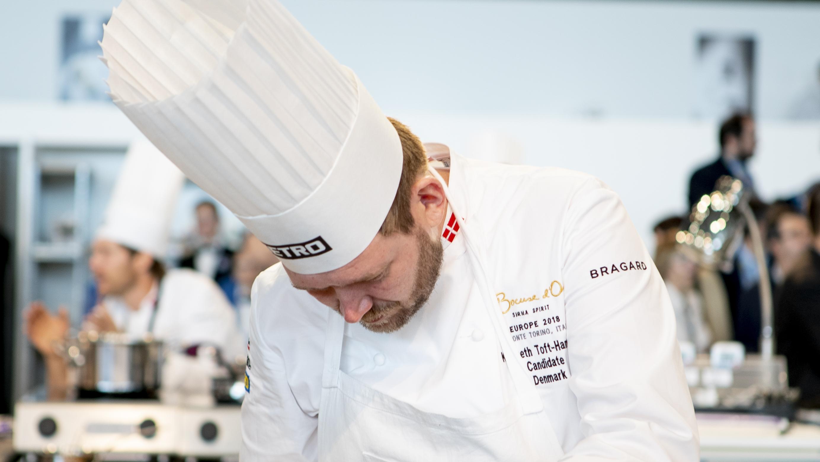 Kenneth Hansen til Bocuse d'Or europamesterskabet