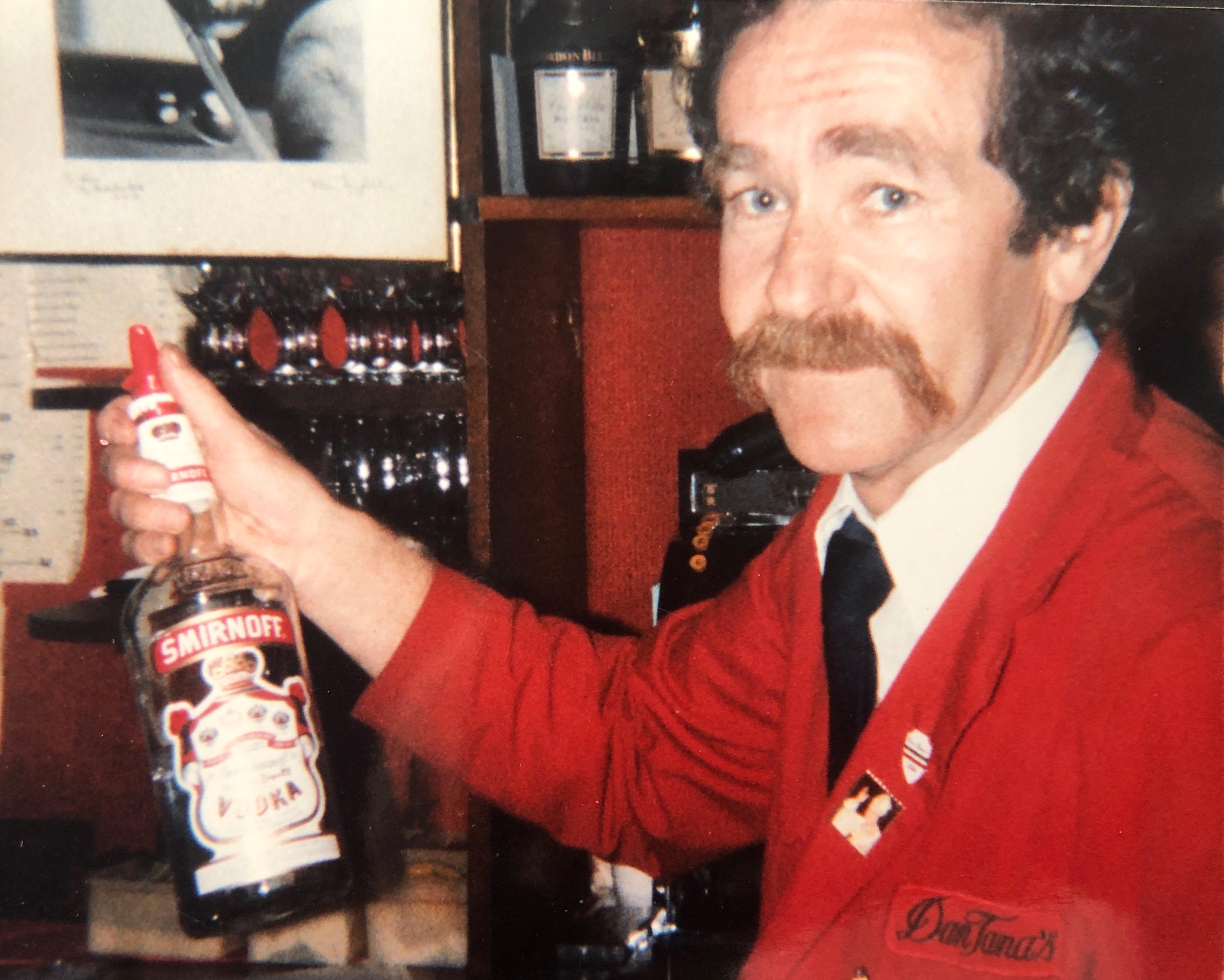 mike gotovac bartender at dan tana's los angeles