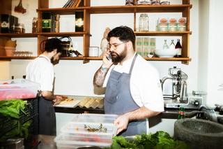 kok på italiensk restaurant i København