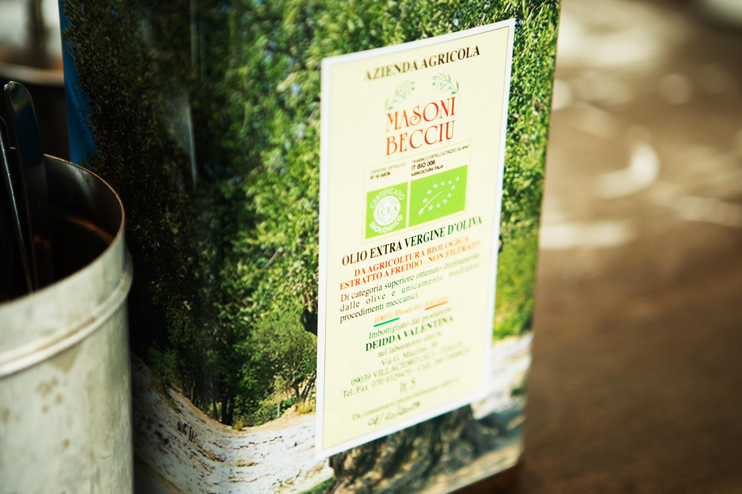 Italiensk olivenolie