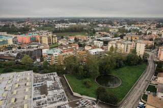 La vista su Treviso dal grattacielo di via Pisa