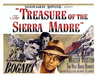 Treasure Of The Sierra Madre film poster from 1946