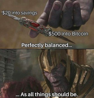 A bitcoin meme