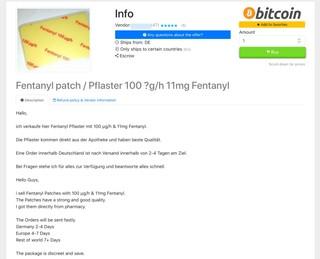 Angebot für Fentanyl