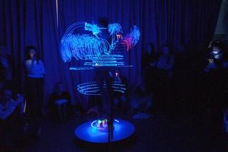Performing 'The New Body' at SALTS, photography: Nicolas Gysin, Courtesy of the artist & Lambdalambdalambda