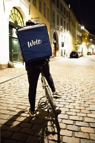 Wolt-bud i København