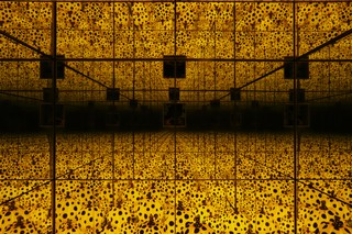 Yayoi Kusama THE SPIRITS OF THE PUMPKINS DESCENDED INTO HEAVENS