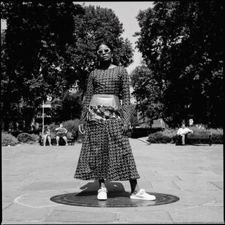 Akwaeke Emezi photographed by adama jalloh