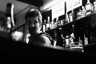 Antikvaren Bjørn på Cafe Stadion