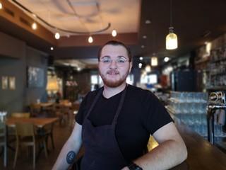 Gianmarco Rizzo ist Line Cook im Restaurant Brisket in Zürich